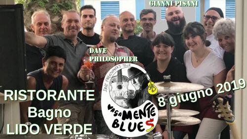 """DAVIDE OLIVONI (con lo pseudonimo di DAVE PHILOSOPHER), con suo tour """"vagaMENTE blues"""""""